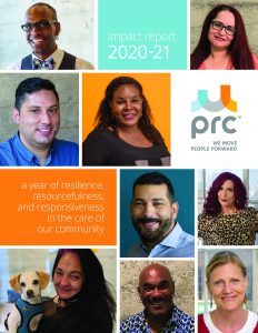 Cover Page of PRC Impact Report 2020-2021